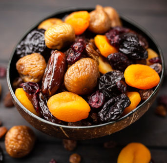 Prune Recipe - Bowel of Mixed Fruit