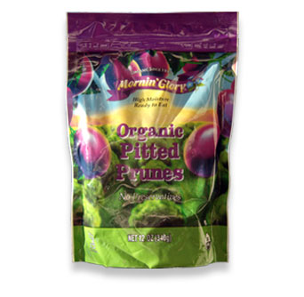Organic Pitted Prunes (Moist Pack)