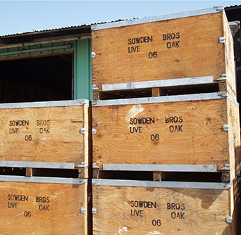 Sowden Bros Wholesale Crates